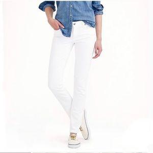 J. Crew Reid White Skinny Jeans Size 25